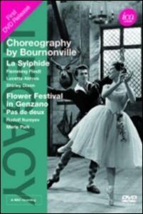 Choreography by Bournonville. La Sylphide. Flower Festival in Genzano - DVD