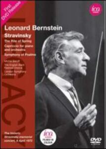 Leonard Bernstein Conducts Stravinsky - DVD