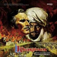 Khartoum (Colonna sonora) - Vinile LP + CD Audio di Frank Cordell