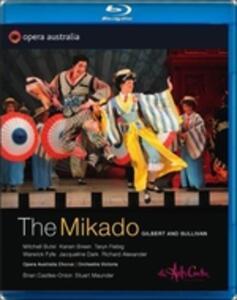 Gilbert e Sullivan. The Mikado di Stuart Maunder - Blu-ray