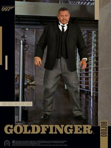 James Bond: Goldfinger. Oddjob 1:6 Scale Figure