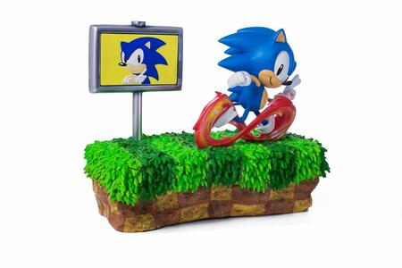 Sonic The Hedgehog 25Th Anniversary 13 Inch Statue