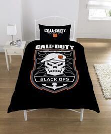 Copripiumino Call Of Duty Black Ops Emblem Single