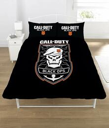 Copripiumino Call Of Duty Black Ops Emblem Double