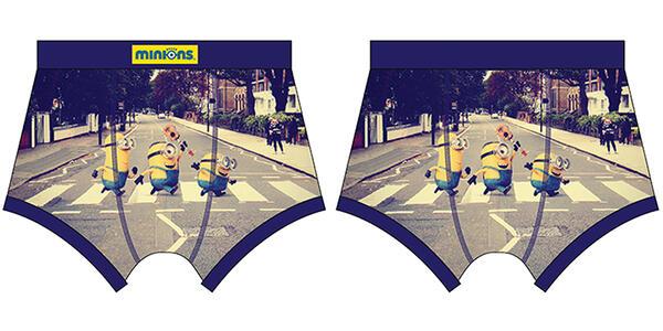 Boxer Cattivissimo Me. Minions Abbey Road
