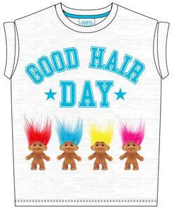T-Shirt bambina Trolls. Good Hair Day