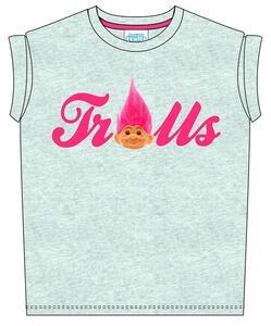 T-Shirt bambina Trolls. Real Hair Troll