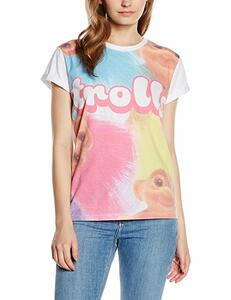 T-Shirt bambina Trolls. Big Print Sublimation
