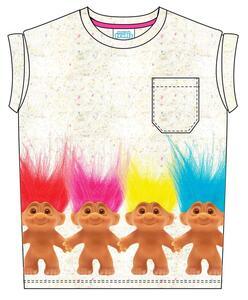 T-Shirt bambina Trolls. Troll Friends