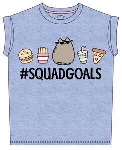 T-Shirt bambina Pusheen. Squad Goals
