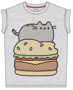 T-Shirt bambina Pusheen. Pusheen Burger