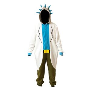 Costume Unisex Tg. XL Rick And Morty - Rick Onesie One