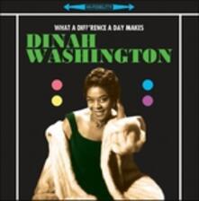 What a Diff'rence (Hq) - Vinile LP di Dinah Washington