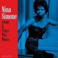 Sings & Plays the Blues (Blue Coloured Vinyl) - Vinile LP di Nina Simone