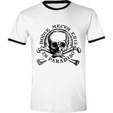 T-Shirt Unisex Uncharted 4. Skull Ringer
