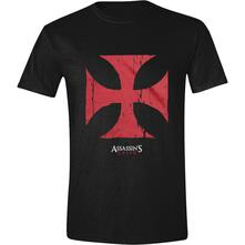 T-Shirt Unisex Assassin's Creed Movie. Red Cross