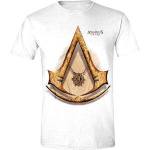 T-Shirt Unisex Assassin's Creed Movie. Gold Icon