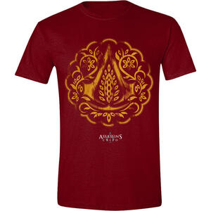 T-Shirt Unisex Assassin's Creed Movie. Floral Icon