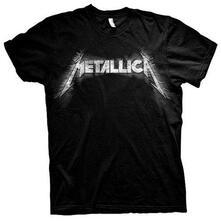 T-Shirt Unisex Tg. L. Metallica: Spiked