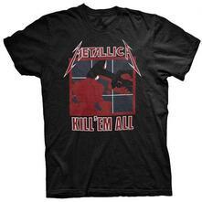 T-Shirt Unisex Tg. M. Metallica: Kill Em All