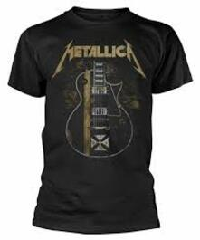 T-Shirt Unisex Tg. S. Metallica: Hetfield Iron Cross