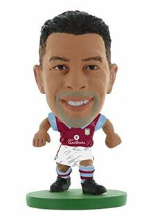 Soccerstarz. Aston Villa Kieran Richardson Home Kit 2016 Version