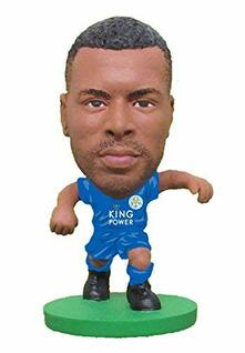 Soccerstarz. Leicester Wes Morgan Home Kit