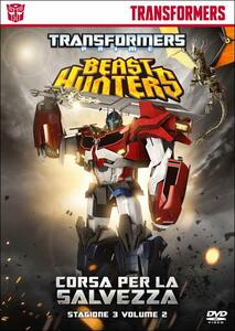 Transformers Prime. Stagione 3. Vol. 2. Beast Hunters: corsa per la salvezza - DVD