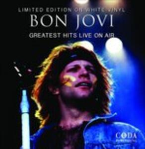 Greatest Hits Live on Air (White Vinyl Limited Edition) - Vinile LP di Bon Jovi