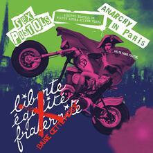 Anarchy in Paris (Silver Vinyl) - Vinile LP di Sex Pistols