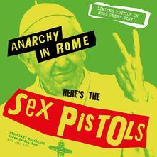 Anarchy in Rome (Snot Green Vinyl) - Vinile LP di Sex Pistols