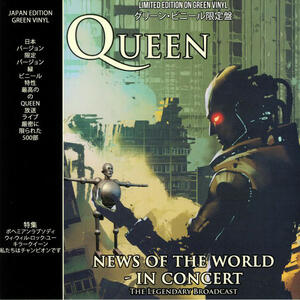 News of the World. In Concert (Green Coloured Vinyl) - Vinile LP di Queen