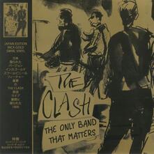 Only Band That Matters (Gold Coloured Vinyl) - Vinile LP di Clash