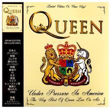 Under Pressure in America. The Very Best (Coloured Vinyl) - Vinile LP di Queen