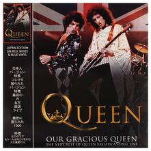 Our Gracious Queen (Red, White & Blue Swirl Coloured Vinyl) - Vinile LP di Queen