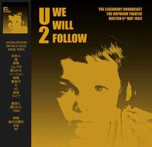 We Will Follow. Orpheum Theater Boston (Coloured Vinyl) - Vinile LP di U2