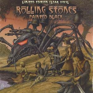Painted Black (Clear Vinyl) - Vinile LP di Rolling Stones