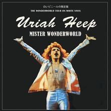 Mister Wonderworld. Shepperton (White Vinyl) - Vinile LP di Uriah Heep