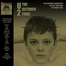 October Tour. The Ritz New York 18th March 1982 (Coloured Vinyl) - Vinile LP di U2