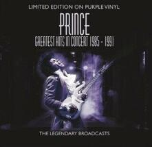 Greatest Hits in Concert (Purple Coloured Vinyl) - Vinile LP di Prince