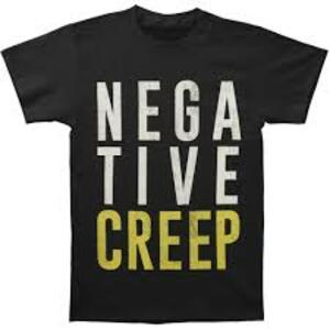 T-Shirt Unisex Nirvana. Negative Creep