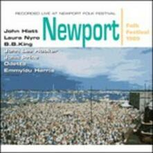 Newport Folk Festival 1989 - CD Audio di Emmylou Harris,John Lee Hooker,B.B. King,Laura Nyro,John Hiatt,John Prine