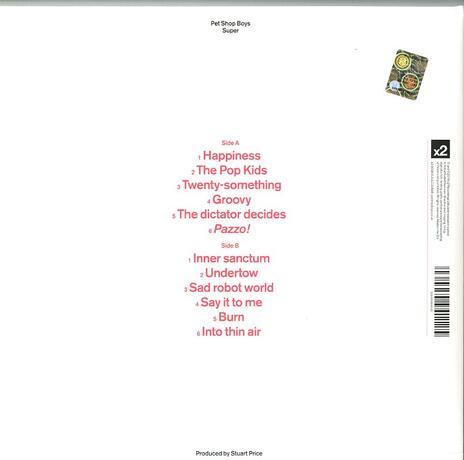 Super - Vinile LP di Pet Shop Boys - 2