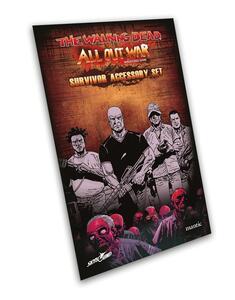 The Walking Dead All Out War. Set Accessori Sopravvissuti