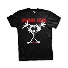 T-Shirt Unisex Tg. M. Pearl Jam: Stickman