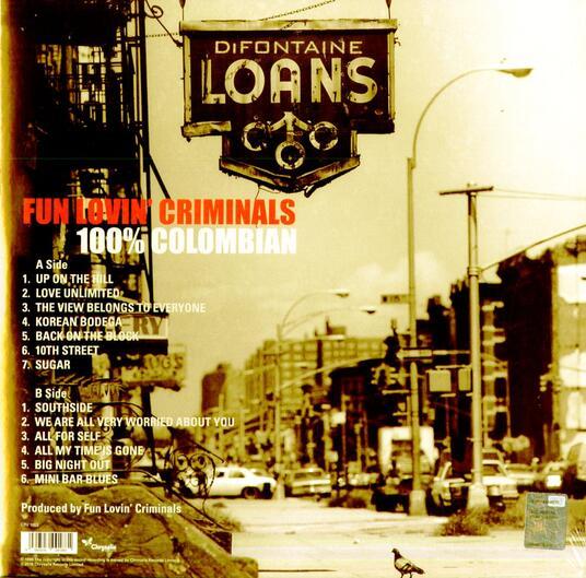 100% Columbian (Limited Edition) - Vinile LP di Fun Lovin' Criminals - 2