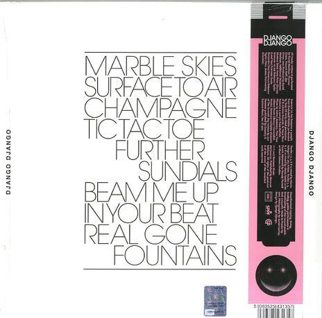 Marble Skies - Vinile LP di Django Django - 2