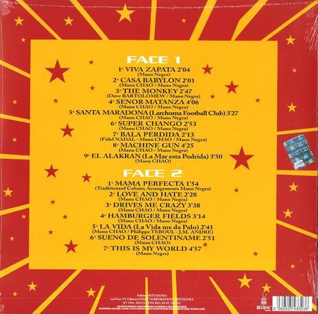 Casa Babylon - Vinile LP di Mano Negra - 2