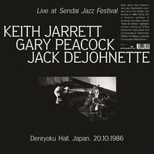 Live at Sendai Jazz Festival - Vinile LP di Keith Jarrett,Gary Peacock,Jack DeJohnette