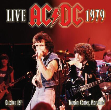Live at Towson Center, Maryland 16-10-1979 - Vinile LP di AC/DC